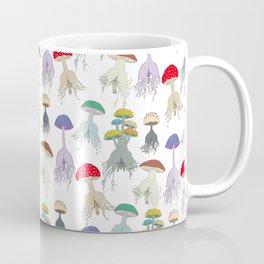 Magic Mushroom Roots Butts Coffee Mug