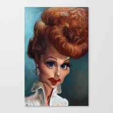 Lucille Ball. Canvas Print