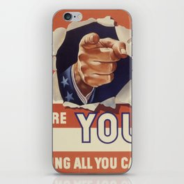 Are You Doing All You Can? iPhone Skin