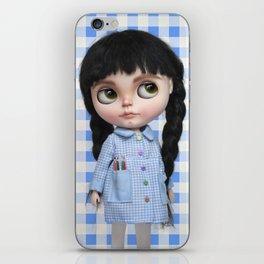 Baby Blue Vichy by Erregiro iPhone Skin