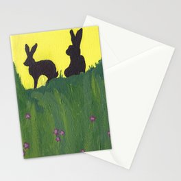 Young Peter Rabbit - Panel 3 Stationery Cards