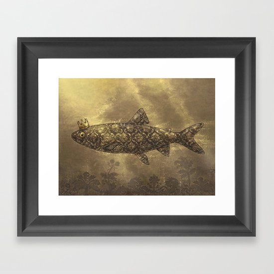 King of the Pond  Framed Art Print