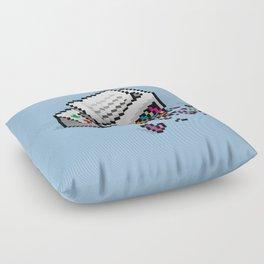Input Output Floor Pillow