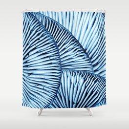 Enoki in Blue Shower Curtain
