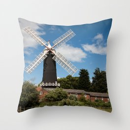 Skidby Mill Throw Pillow