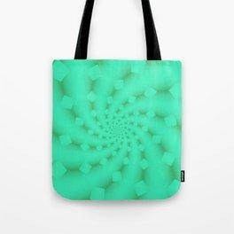 Tess Fractal in Honeydew Tote Bag
