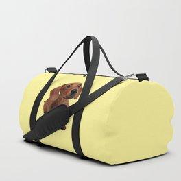 Cute Dachshund Duffle Bag