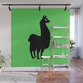 Angry Animals: llama Wall Mural