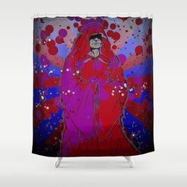 Psychedelic Emperor Shower Curtain