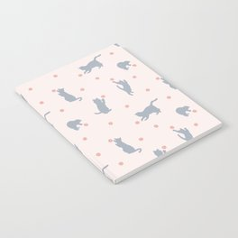 Polka Dot Cats Notebook