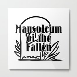Mausoleum of the Fallen Metal Print