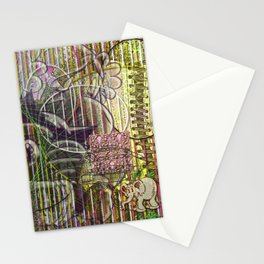 A Strict Code for Mourning Flowers (2) Stationery Cards