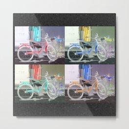 Bicycle Key West Metal Print