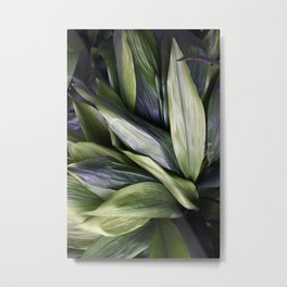 Green Jungle Metal Print
