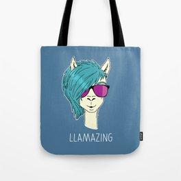 LLAMAZING llama Tote Bag