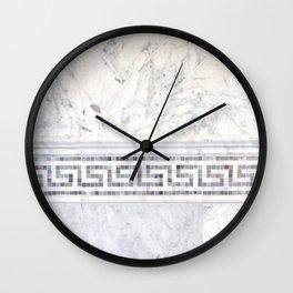 Greek Marble 2 Wall Clock