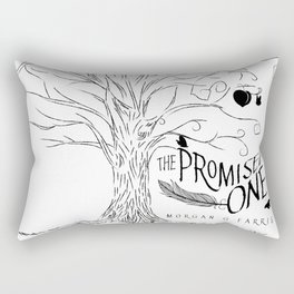 The Promised One (The Chalam Færytales, Book I) Rectangular Pillow