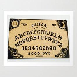 Ouija Art Print