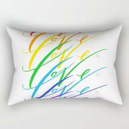 Love is Love! Rectangular Pillow