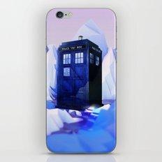 TARDIS SNOW iPhone & iPod Skin