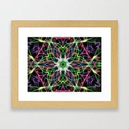 Guilded Lights Framed Art Print