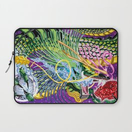 Dragon Of The Rose Laptop Sleeve