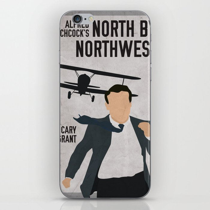 Alfred Hitchcock's North By Northwest Movie Print iPhone Skin