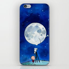 Little astronomer iPhone Skin