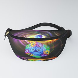 Dice  Game 3 Fanny Pack