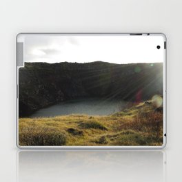 Iceland Golden Circle - Kerið Laptop & iPad Skin