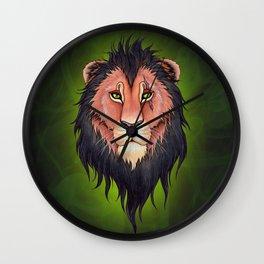 Scar Wall Clock