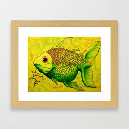 Heath Fish Framed Art Print
