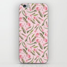 Camellia Flowers Pattern iPhone Skin