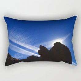 In the Vortex of a Sci-Fi Jetstream Rectangular Pillow
