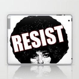 Angela Davis - Resist (black version) Laptop & iPad Skin