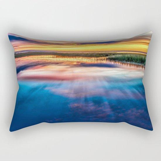 Enchanted Lake Rectangular Pillow