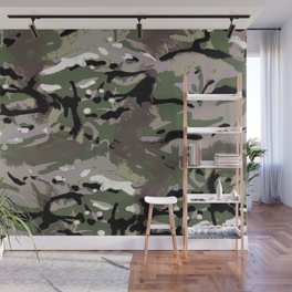 Camo Camo, and the art of disappearing. Wall Mural