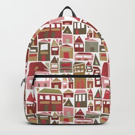 Peppermint Village Backpack