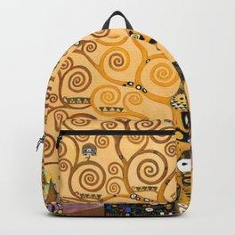 Gustav Klimt Tree Of Life Backpack
