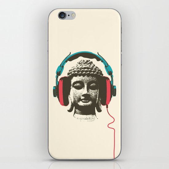 Enjoy Music iPhone & iPod Skin