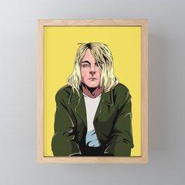 Kurt Framed Mini Art Print