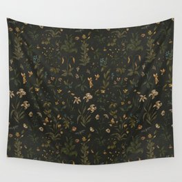 Old World Florals Wall Tapestry