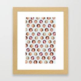 Betty Forevs Framed Art Print