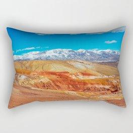 Altai Mountains Valley, Kizil-chin Rectangular Pillow