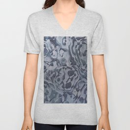 Abstract Composition 359 Unisex V-Neck