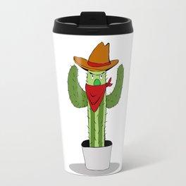Cowboy Cactus Travel Mug