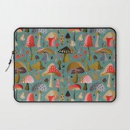 Mushroom Collection – Mint Laptop Sleeve