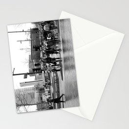 Different directions, different goals Stationery Cards