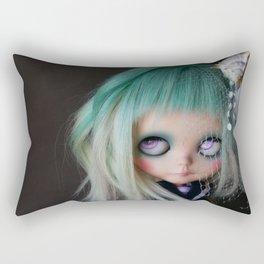 LITTLE MARINERITA SIREN (Ooak BLYTHE Doll) Rectangular Pillow