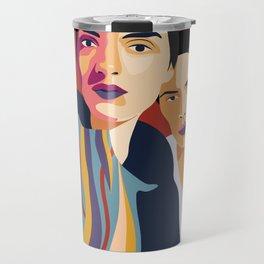 Womanity - Sisterhood - Model#2.3 - fashion illustration Travel Mug